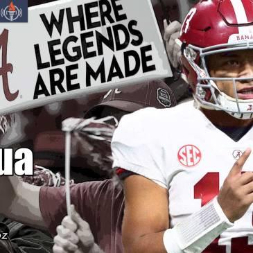 Tua Tagovailoa Alabama Comeback National Championship