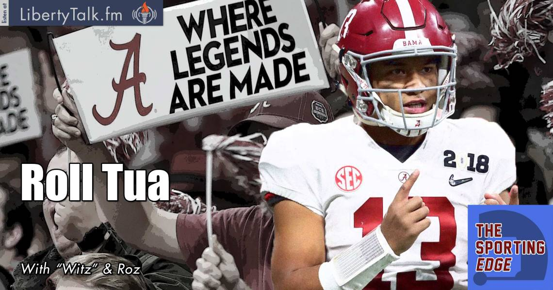Tua Tagovailoa Alabama Comeback National Championship - The Sporting Edge