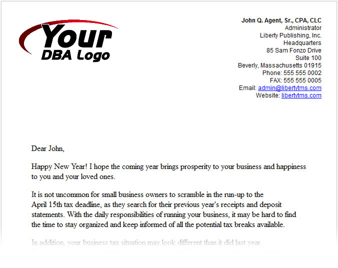 Sample Letter Thanks For Your Business - Cover Letter Templates