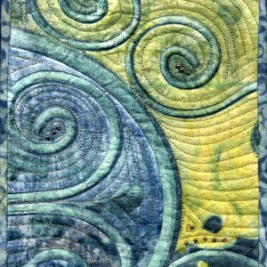 Mary Magneson Blue Curls