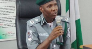 Comptroller Mohammed Garba, Customs Area Controller,