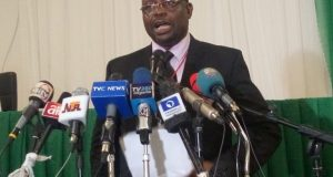 Festus Okoye, INEC National Commissioner, Chairman Information And Voter Education Committee