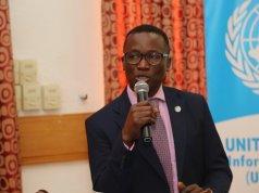 Oluseyi Soremekun, National Information Officer UN Information Centre, UNIC