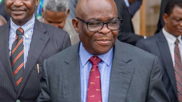 Justice Walter Onnoghen , Suspended Chief Justice Of Nigeria, (CJN)
