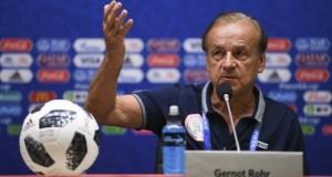 Gernot Rohr, Nigeria Head Coach