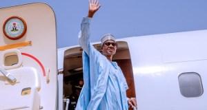 Buhari Departs Abuja For Niger
