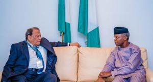 Osinbajo, Former Us Envoy Meet On Fight Against Virus