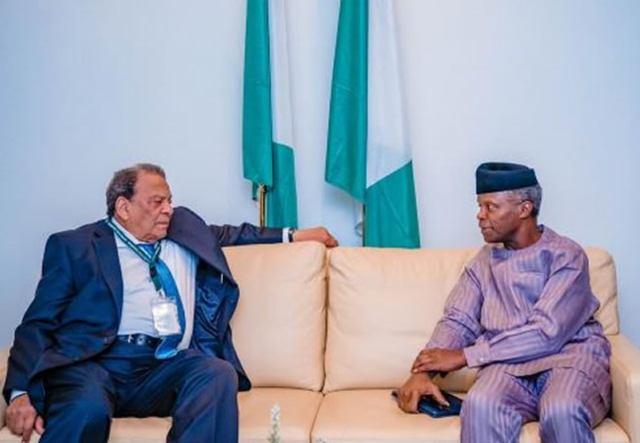 Osinbajo, Former Us Envoy Meet On Fight Against Virus