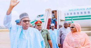 Buhari Returns To Abuja From Daura