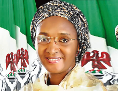 Minister of Finance, Budget and National planning, Zainab Ahmed