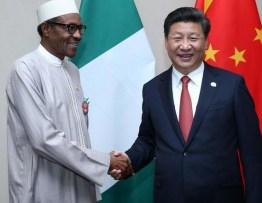 President Buhari And Chinese President Xi Jinping