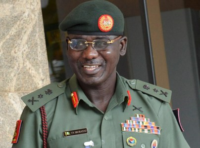 Lt.-Gen. Tukur Buratai, Chief of Army Staff