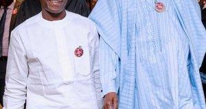 Vice President And President Muhammadu Buhari