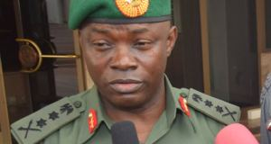 General Gabriel Olonisakin, Chief Of Defence Staff
