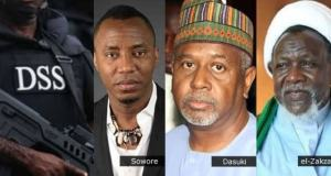 Alleged Illegal Detention: DSS Says El-Zakzaky, Dasuki, Sowore Opted For Service's Custody