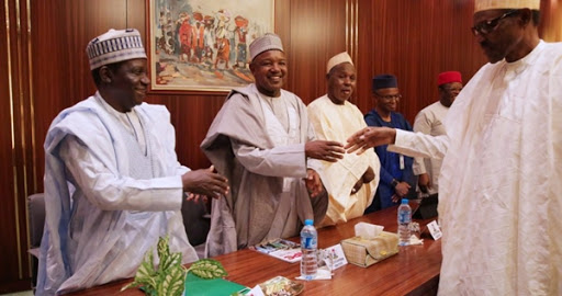 Buhari Meets Masari, Others