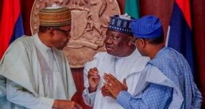 Buhari, Lawan, Gbajabiamila Meet Over Covid-19 Funds