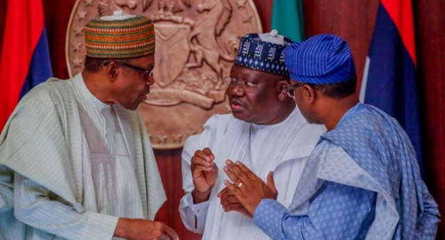 Buhari, Lawan, Gbajabiamila Meet Over Covid-19 Funds