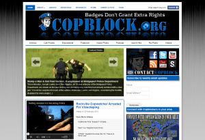 copblock screenshot 2013 300x205 CopBlock Hits 3 Year Anniversary