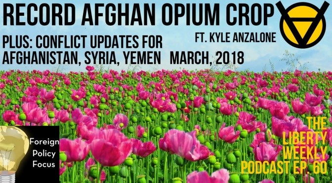 Record Afghani Opium Crop; Syria & Yemen Updates Ft. Kyle Anzalone Ep. 60