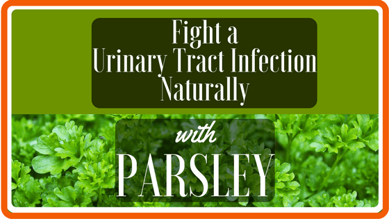 Fight a UTI with Parsley