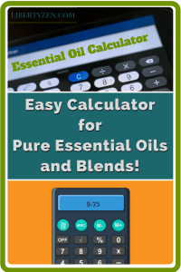 Essential Oil Dilution Calculator