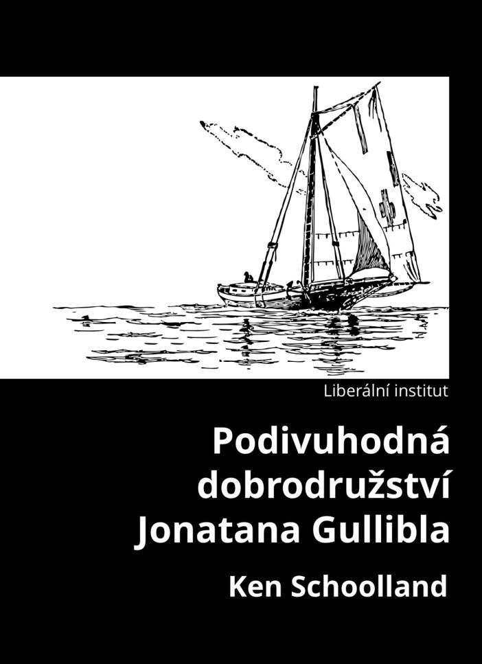 Book Cover: Schoolland, K. (1981): Podivuhodná dobrodružství Jonatana Gullibla
