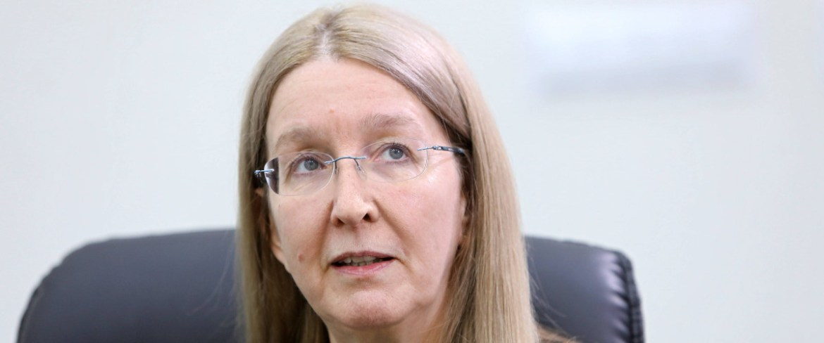 Interview with Dr. Ulana Suprun, Ukraine's former acting Minister of Health
