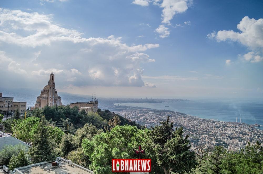 Beyrouth vu depuis Harissa. Crédit Photo: François el Bacha pour Libnanews.com. Tous droits réservés