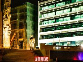 Le mémorial de Rafic Hariri, situé à proximité des lieux de l'attentat à Beyrouth. Crédit Photo: François el Bacha pour Libnanews.com