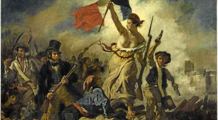 Photo : Eugene Delacroix, La liberté guidant le peuple (1830)