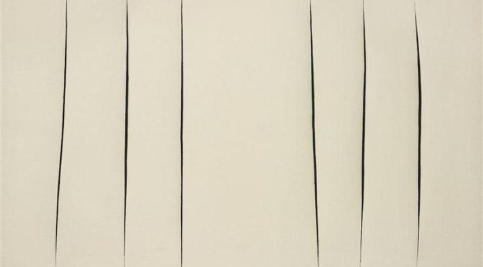 Lucio Fontana, CONCETTO SPAZIALE, 1960