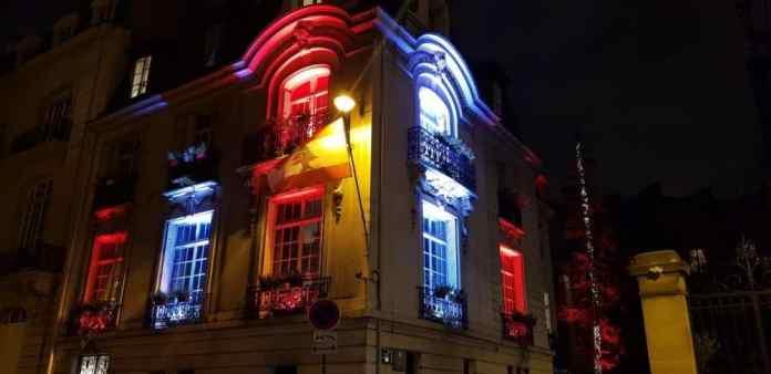 L'Ambassade du Liban en France. Source Photo: Facebook