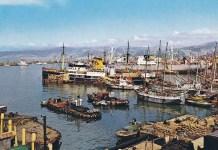 Le Port de Beyrouth au début du XXème siècle. Source Photo: Old Beirut