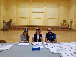 Le bureau de vote de Strasbourg en France. Source Image: Ambassade du Liban en France.