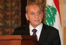 Le Président de la Chambre Nabih Berry. Crédit Photo: NNA