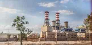 La centrale électrique de Deir el Ammar au Nord Liban. Crédit Photo: François el Bacha pour Libnanews.com. Tous droits réservés.
