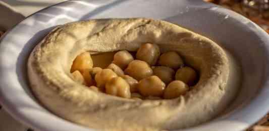 Un plant de Hommos Libanais. Crédit Photo: François el Bacha pour Libnanews.com. Tous droits réservés