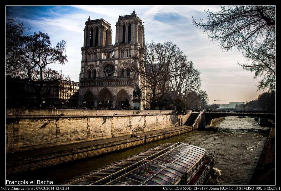 Notre Dame de Paris en 2014. Crédit Photo: François el Bacha