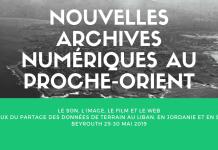 Nouvelles archives numériques au Proche-Orient