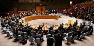 Le Conseil de Sécurité de l'ONU. Source UN
