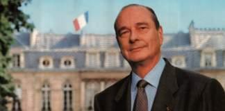 La photo officielle de Jacques Chirac.