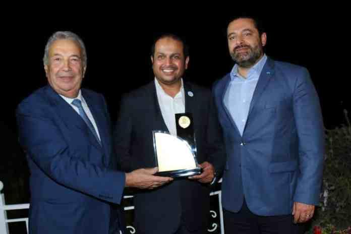 Saad Hariri et Samir Khatib en septembre 2018. Crédit Photo: Dalati & Nohra