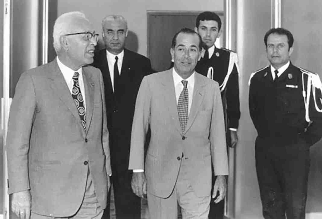 L'ancien Ministre de l'intérieur Raymond Eddé