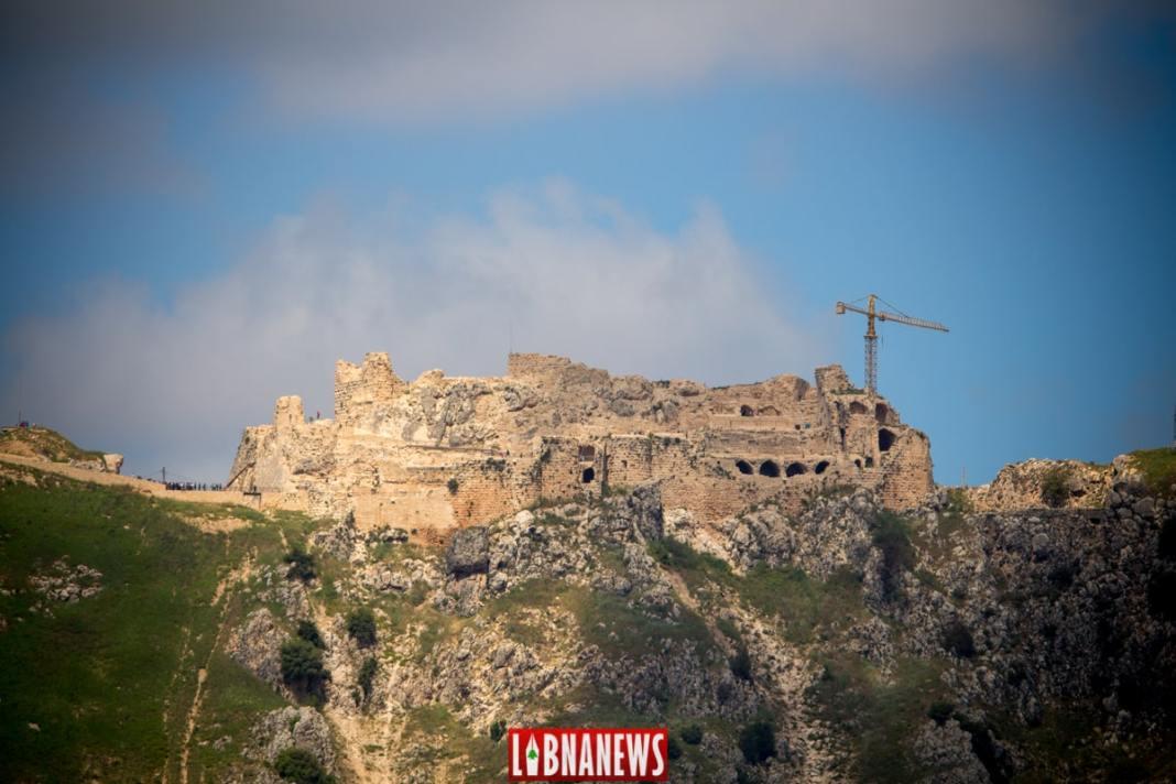 Le Château de Beaufort (Sud Liban), Vue générale. Crédit Photo: François el Bacha, tous droits réservés.