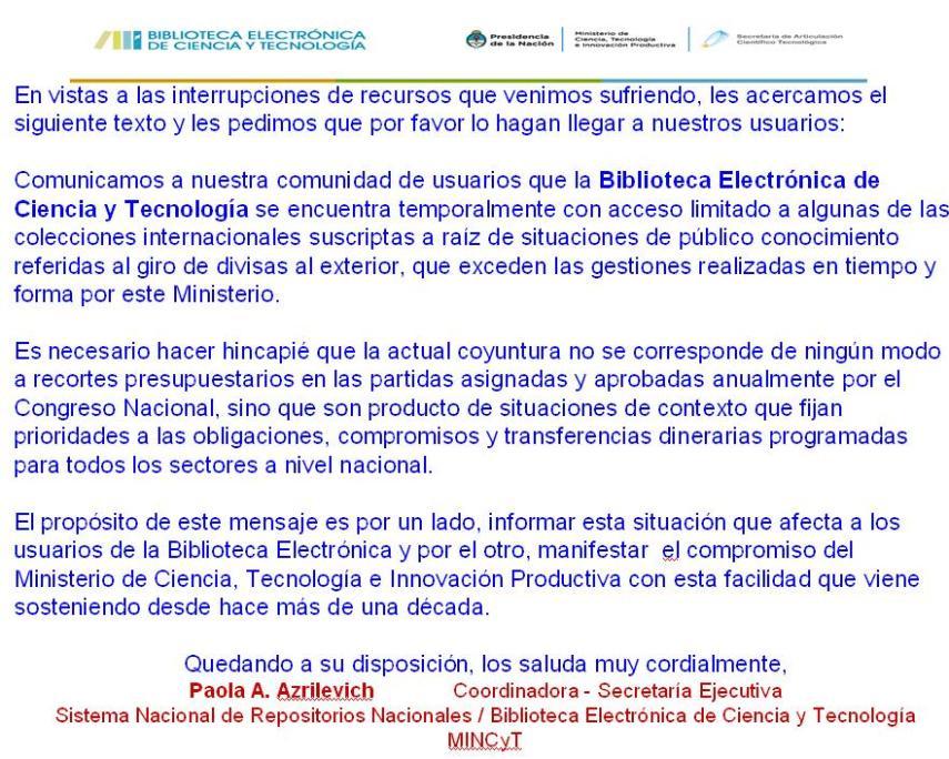Biblioteca Ciencia y Tecnica