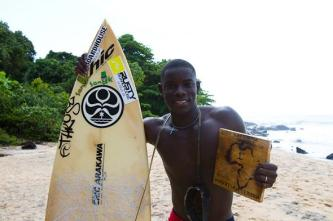 Liberia Legen Alfred Lomax. Photo Courtesy of www.isasurf.org