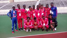 Liberia Track and Field Team. Photo taken from Coach Cooper's Facebook.
