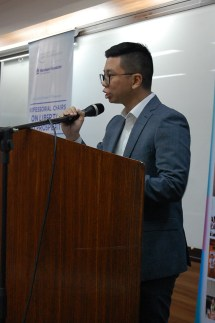Atty. Michael T. Tiu, Jr. of the UP Law Center