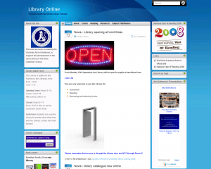 Library Online Website